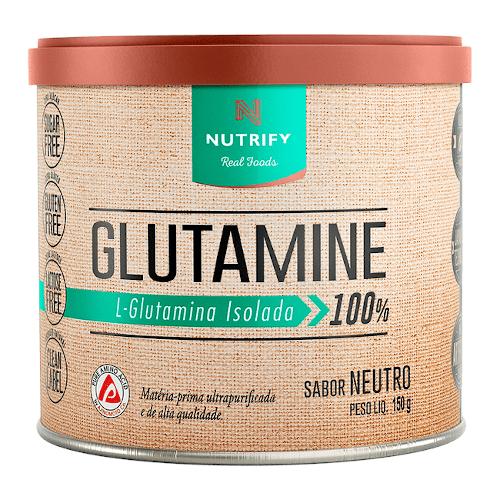 Glutamina Isolada 150g - Nutrify