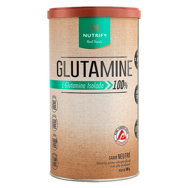 Glutamina Isolada 500g - Nutrify