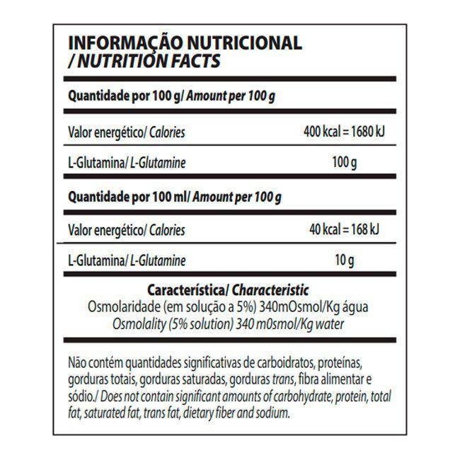 Glutamine Isolates 1kg - IntegralMedica