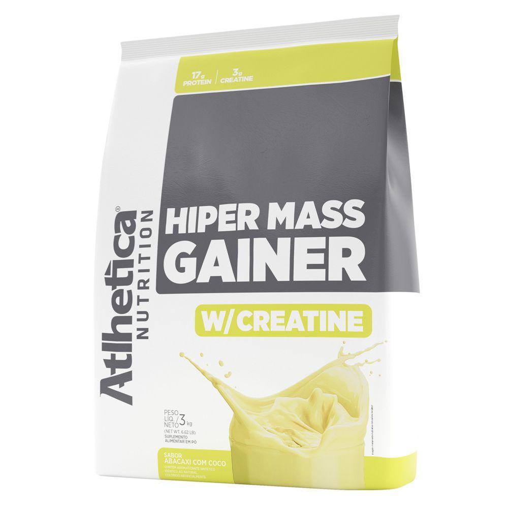 Hiper Mass Gainer W/Creatine 3Kg - Atlhetica Nutrition