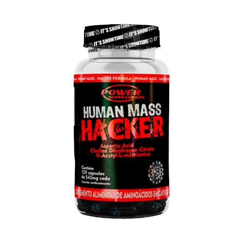 Human Mass Hacker 120 Caps - Power Supplements