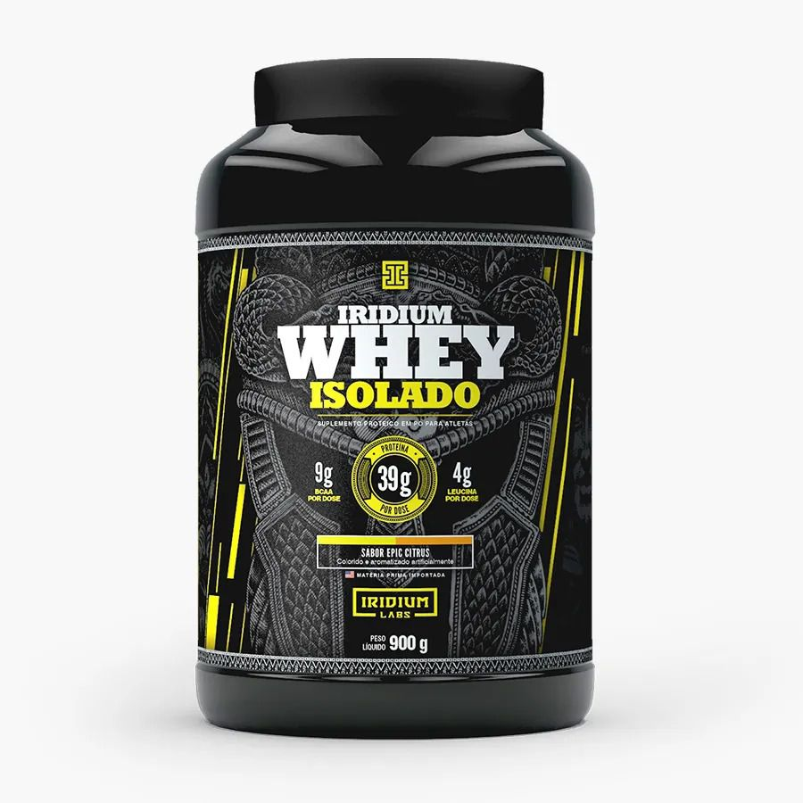 Iridium Whey Isolado 900g - Iridium Labs