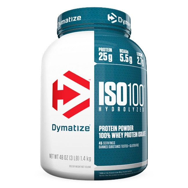 ISO 100 Hydrolyzed 3lbs (1,4kg) - Dymatize