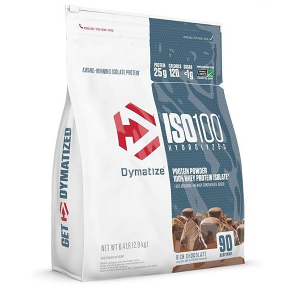 ISO 100 Hydrolyzed 6Lbs (2,7Kg) - DYMATIZE (Vál:02/2022)