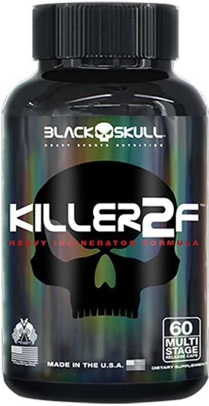 Killer 2F 60 Caps. - Black Skull
