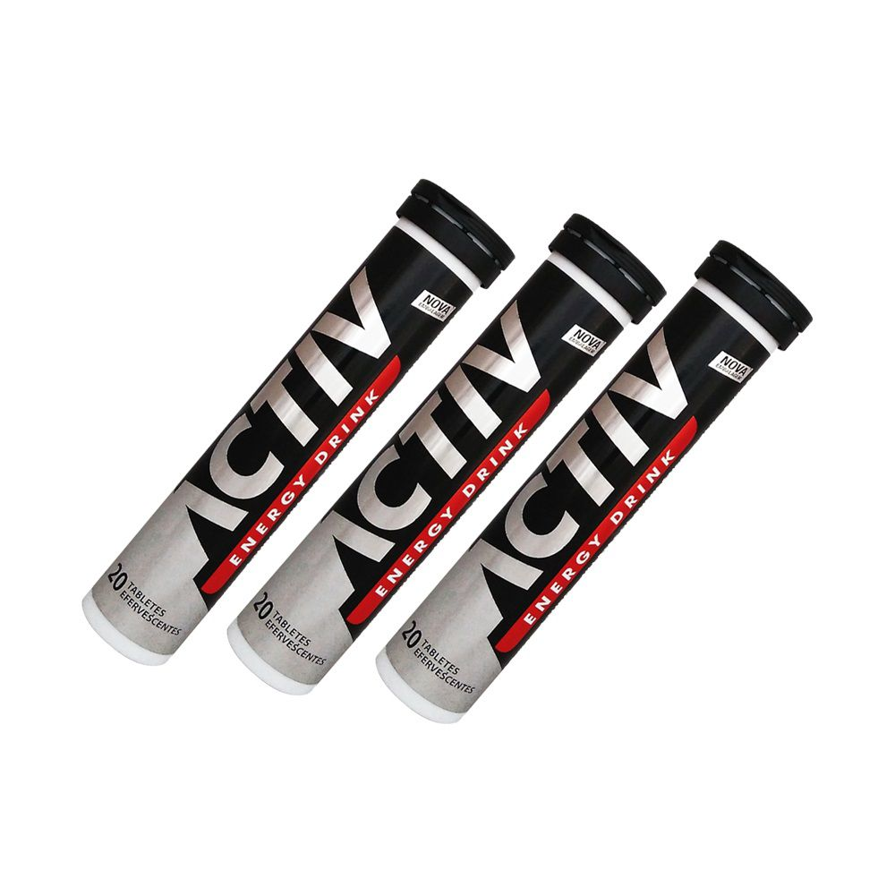 KIT: 3x Activ Energy Drink - EUROVIT