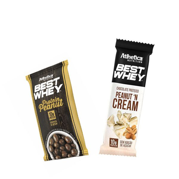 KIT: Best Whey Protein Peanut + Best Whey Peanut 'N Cream