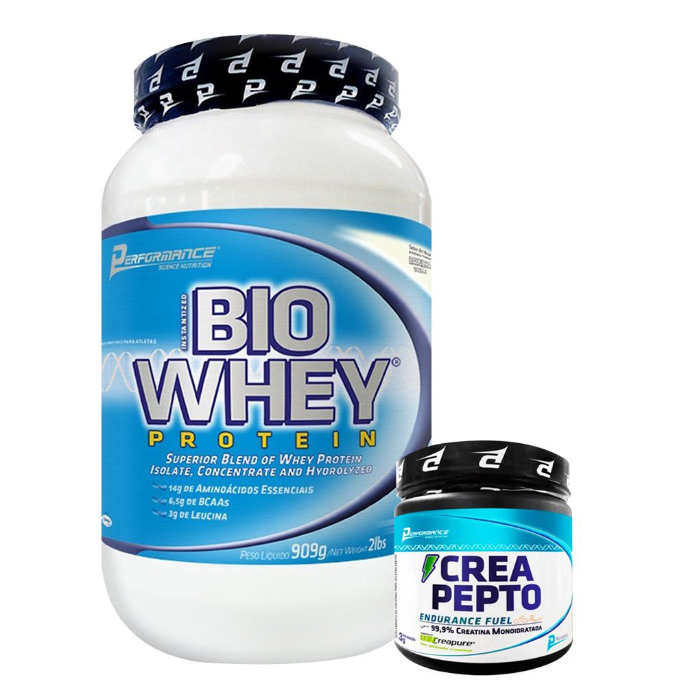 8e14bf222 KIT  Bio Whey 900g + Crea Pepto 150g - BC Suplementos - Loja Online ...