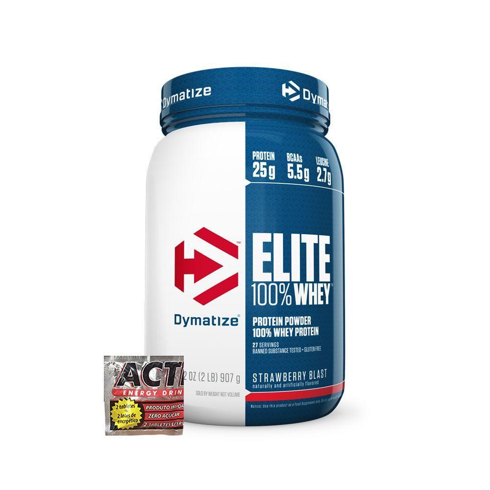 Elite 100% Whey 900g + Brinde
