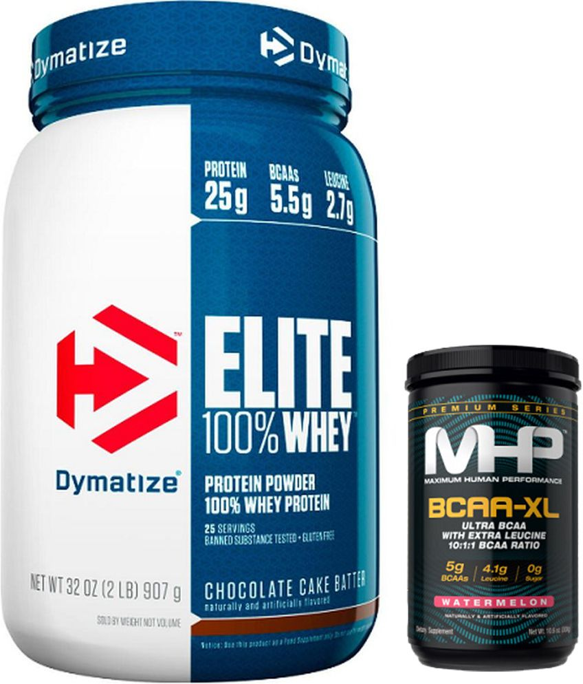 KIT: Elite 100% Whey 907g + BCAA-XL 300g