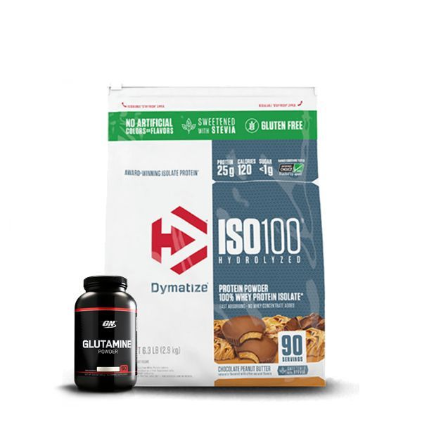 KIT: ISO 100 90 Doses + Glutamine Black Line 300g