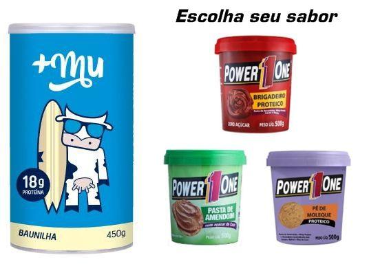 KIT: +MU 450g + Pasta Proteica 500g (Uni.)