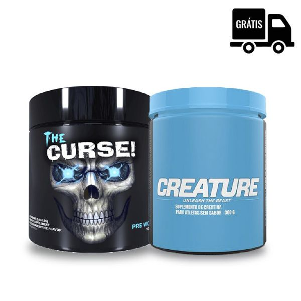 KIT: The Curse 50 Doses + Creature 300g