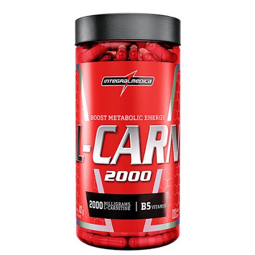 L-Carn 2000 120 Caps - Integralmedica