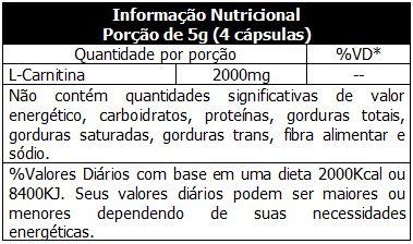 L-Carnitine 120 Caps. - Probiotica