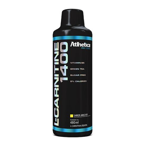 L-Carnitine 1400 480ml - Atlhetica Nutrition