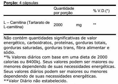 L-Carnitine 2000 120 Caps. - Max Titanium