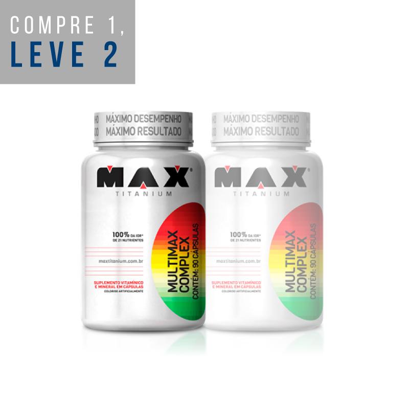 Leve 2: Multimax Complex 90 Caps. - Max Titanium