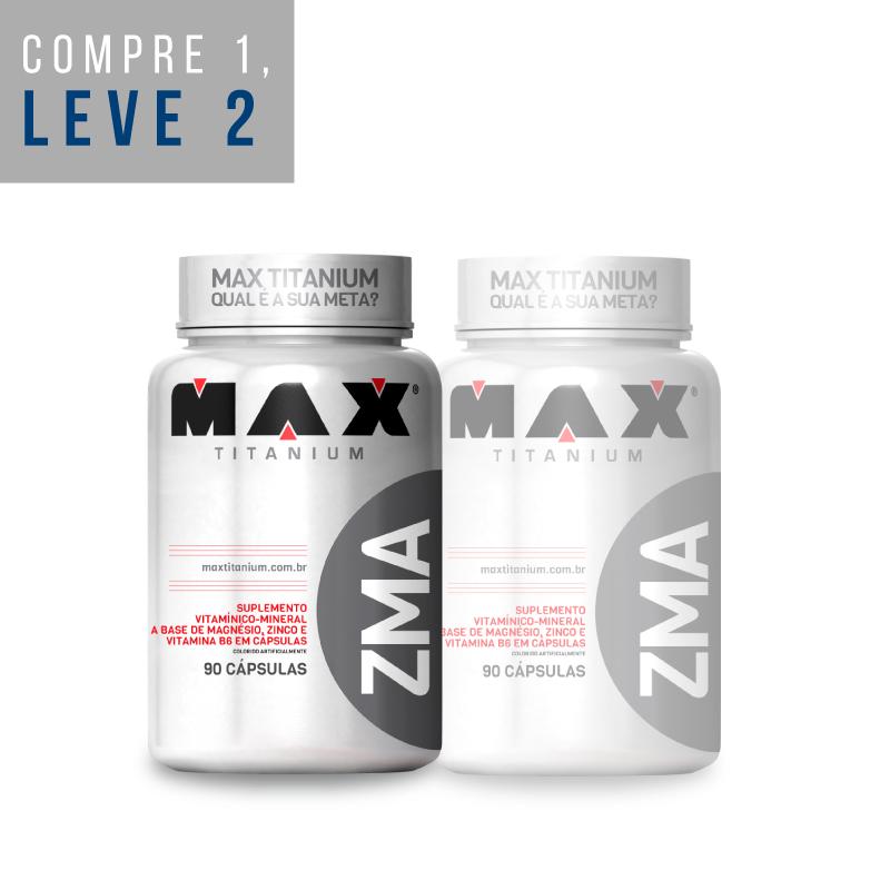 Leve 2: ZMA 90 Caps. - Max Titanium