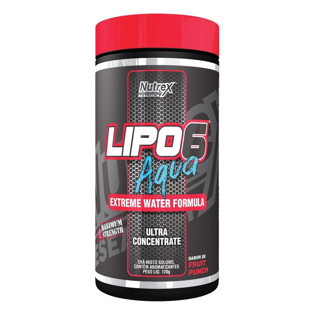 Lipo 6 Aqua 120g - Nutrex