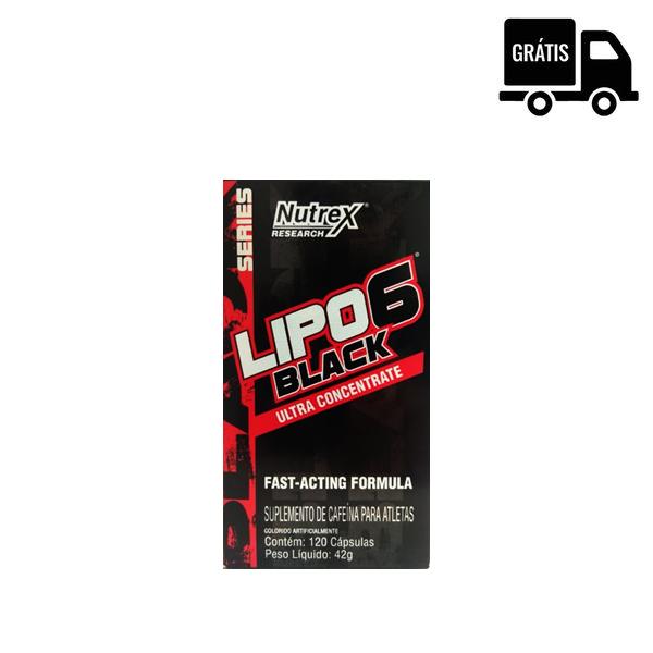 Lipo 6 Black Ultra Concentrado 120 Caps. - Nutrex