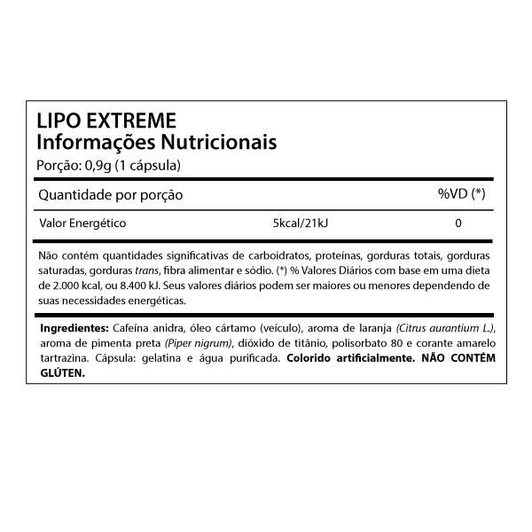 Lipo Extreme (60 Caps.) - Cell Force
