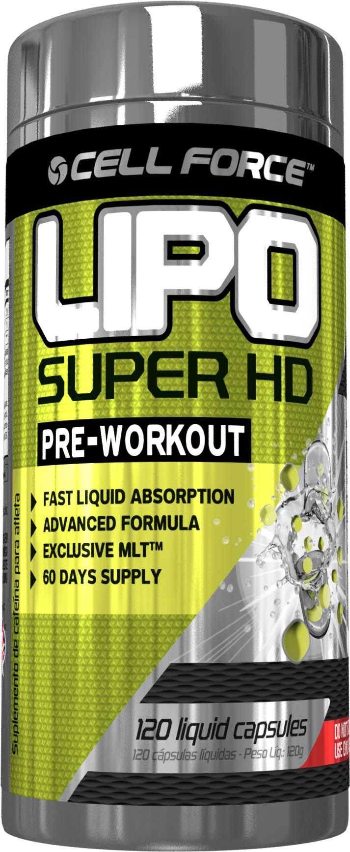 Lipo Super HD 120 Caps. - Cell Force