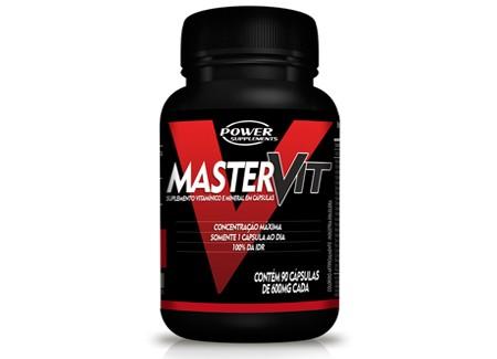 Master Vit (Multivitamínico) 90 Caps - Power Supplements