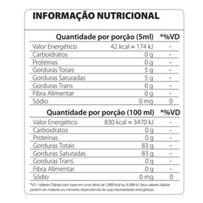 MCT 3 Gliceril M 250ml - Atlhetica Nutrition