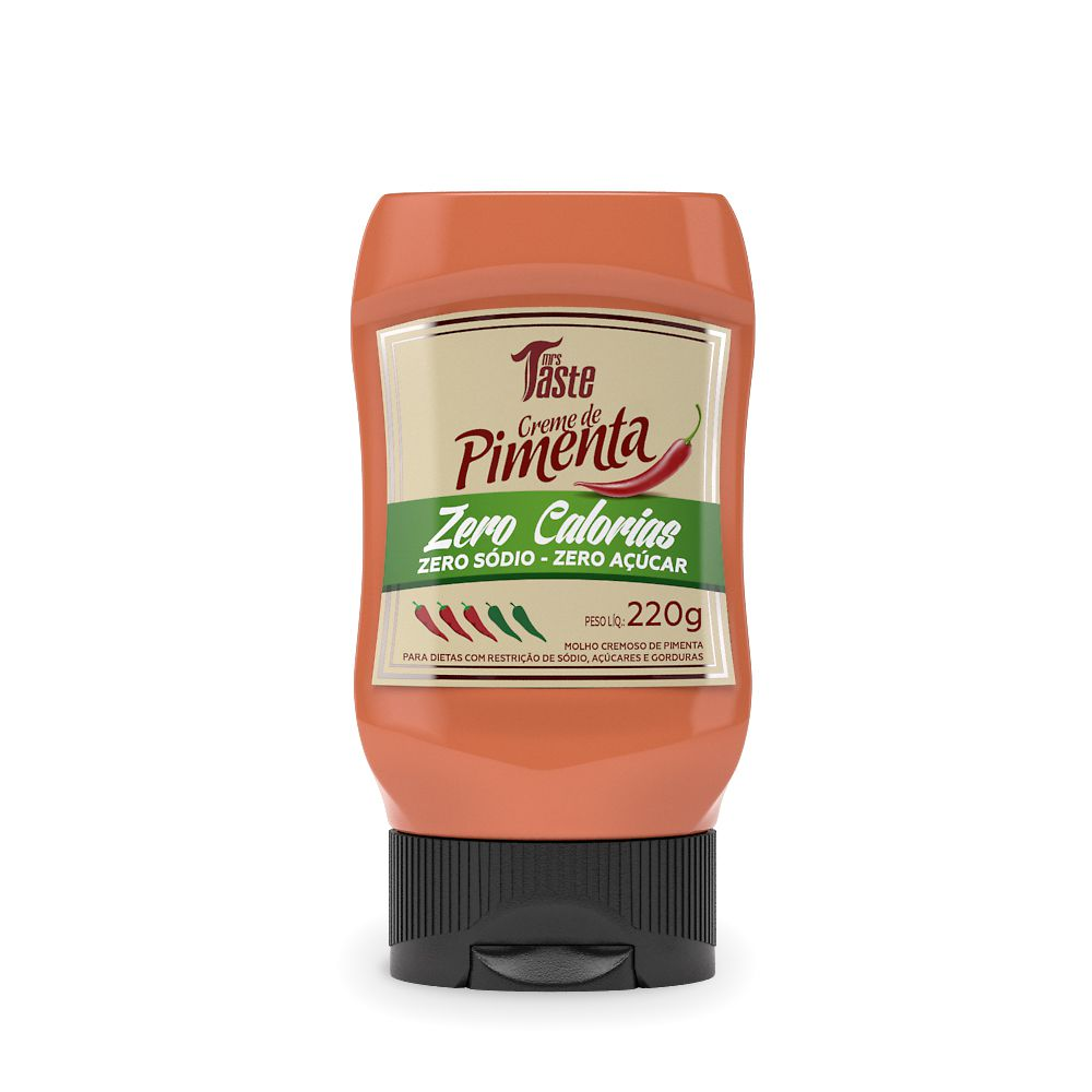Molho Creme de Pimenta 220g - Mrs. Taste