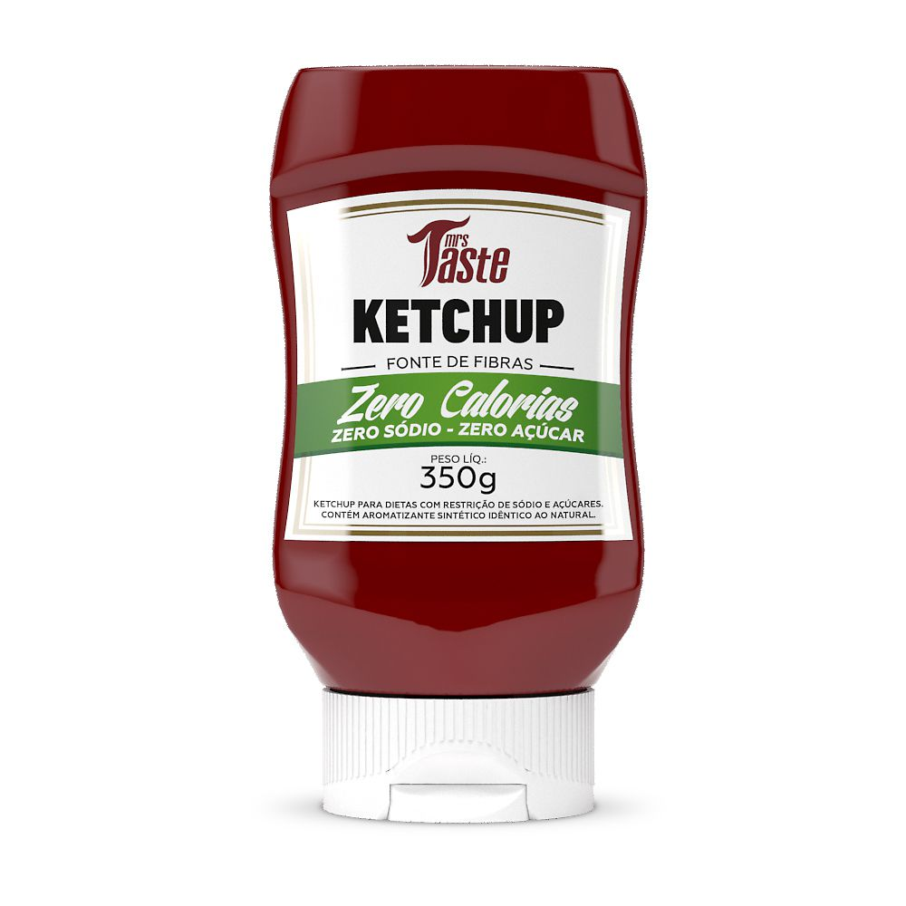 Molho Ketchup 350g - Mrs. Taste