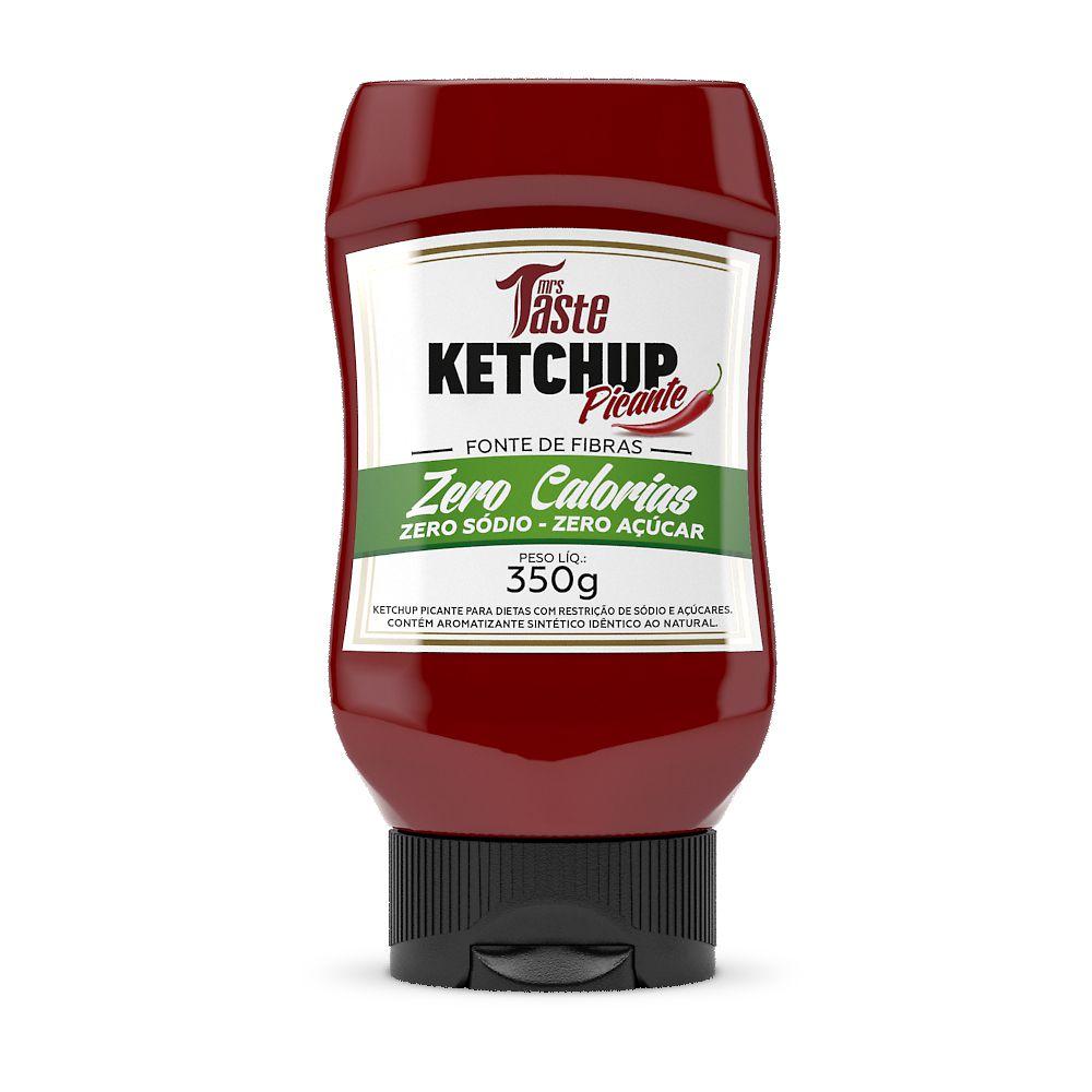 Molho Ketchup Picante 350g - Mrs. Taste