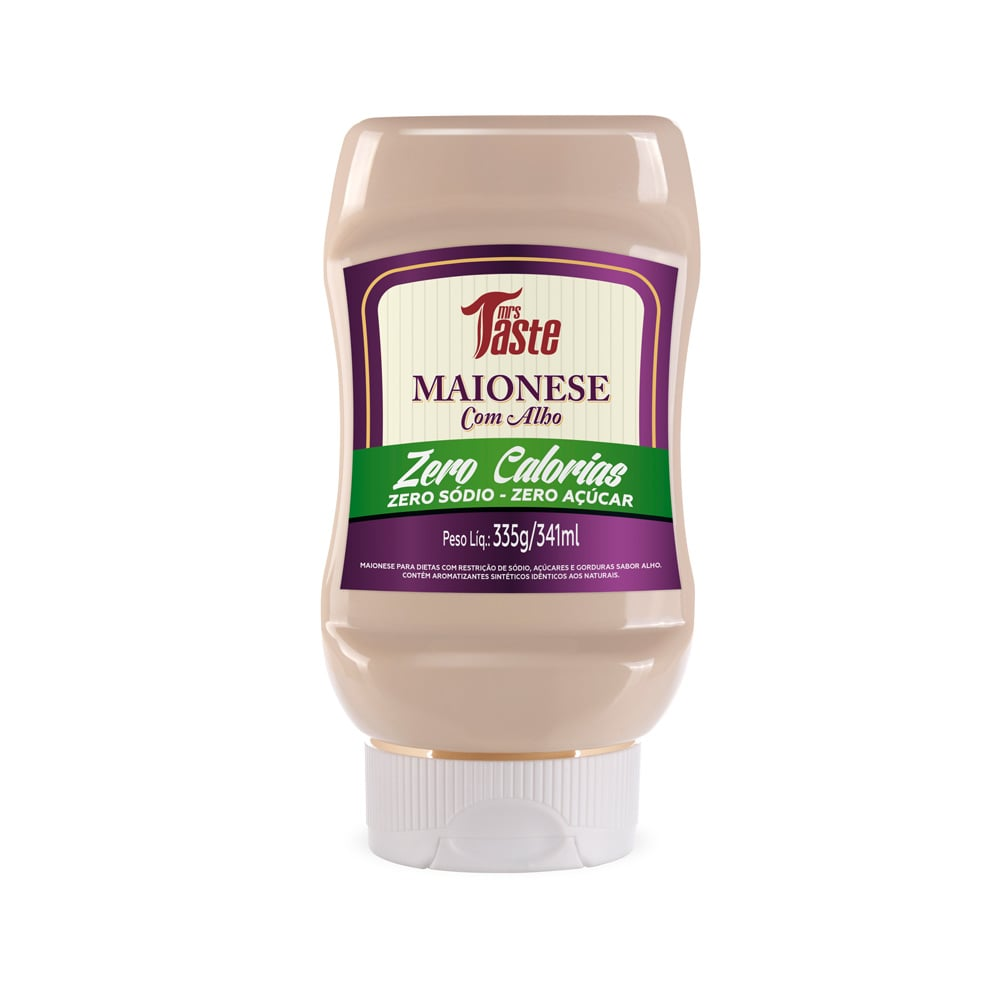 Molho Maionese c/ Alho 330g - Mrs. Taste