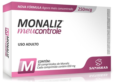 Monaliz (Picolinato de Cromo) 30 Caps - Sanibras