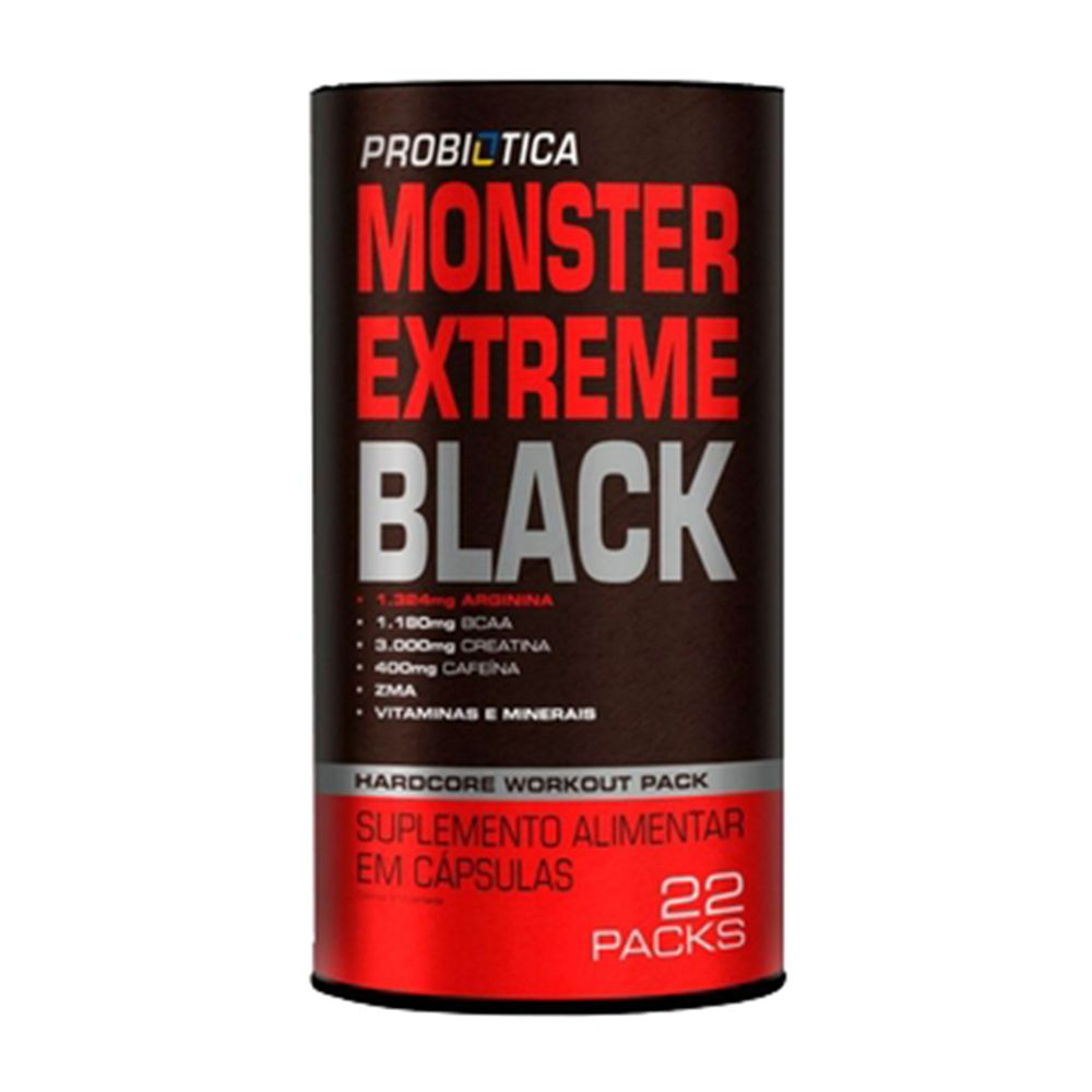 Monster Extreme Black 22 Packs - Probiotica