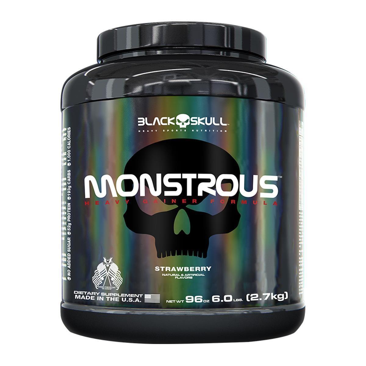 Monstrous Gainer 2,7Kg - Black Skull