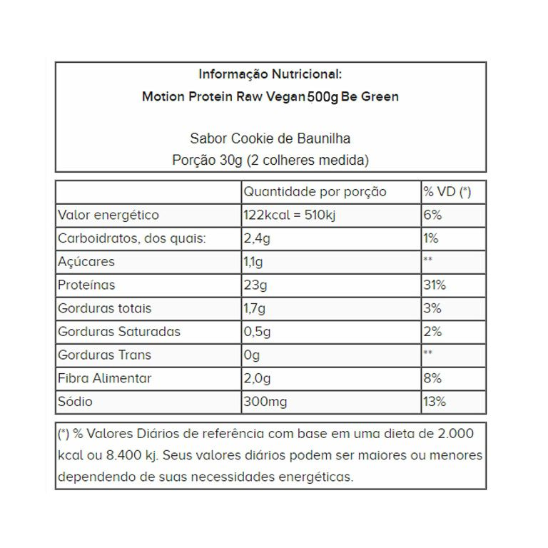 Motion 3 Blend Protein 500g - Be Green
