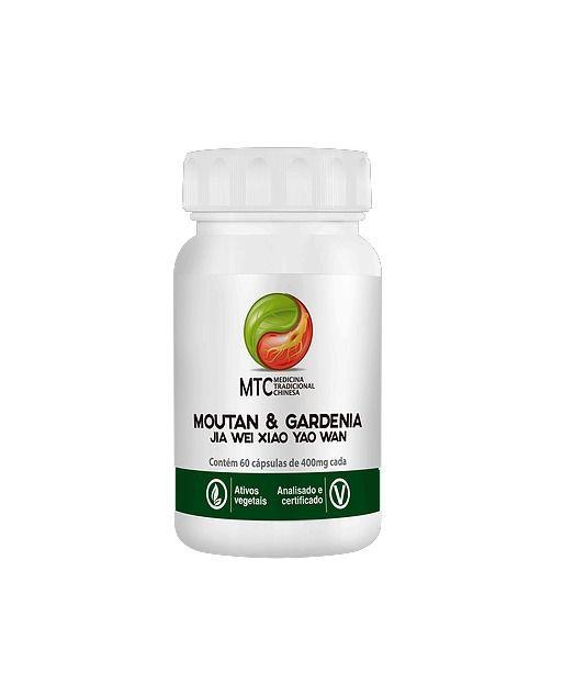 Moutan & Gardenia - JIA WEI XIAO YAO WAN 60 Caps. - VITAFOR