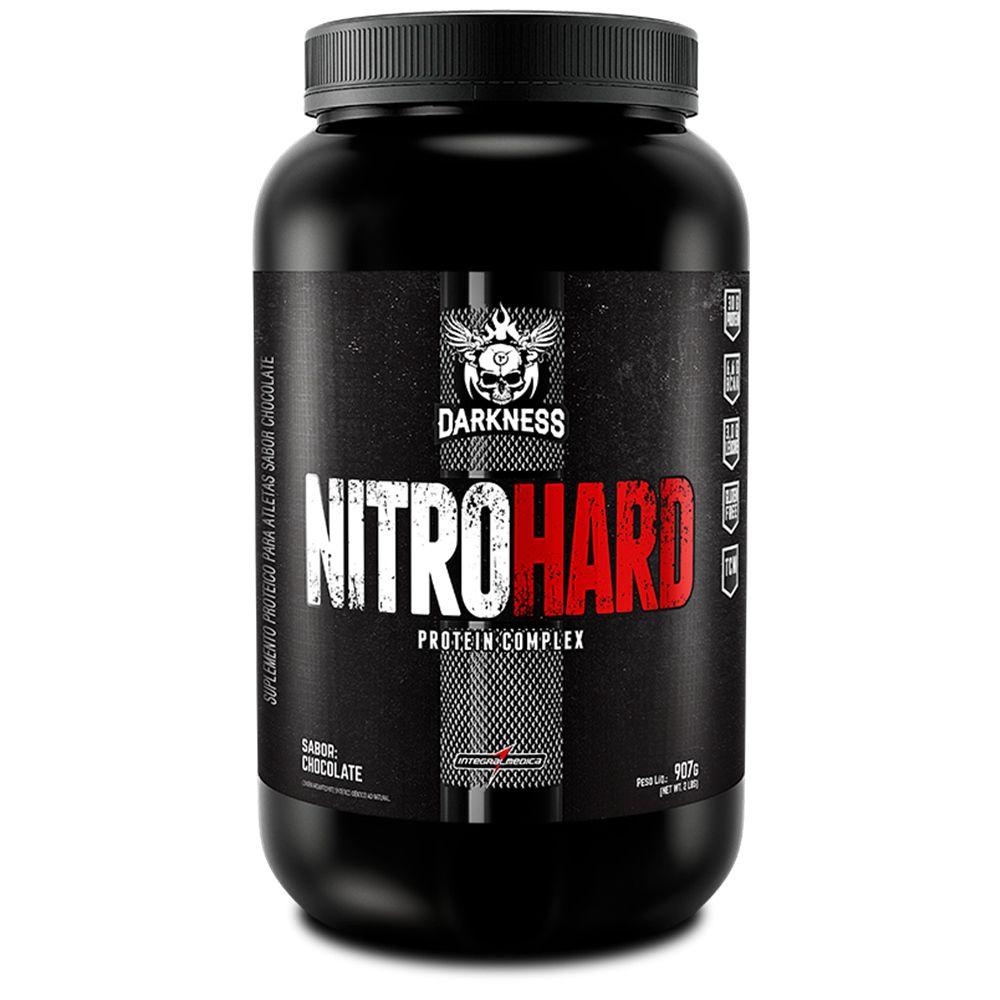 NitroHard Protein Complex Darkness 907g – IntegralMedica