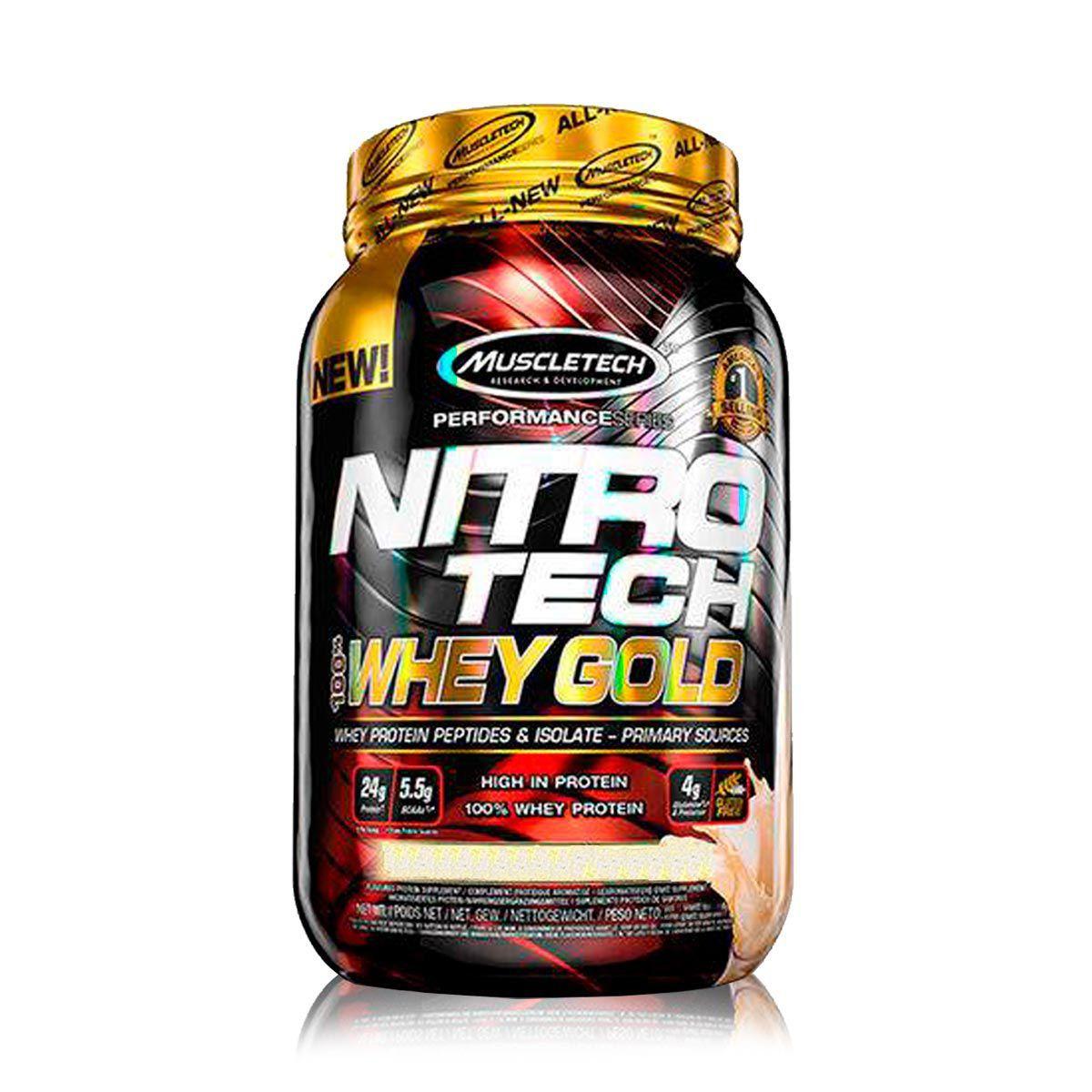 NitroTech 100% Whey Gold 1,02Kg - MuscleTech