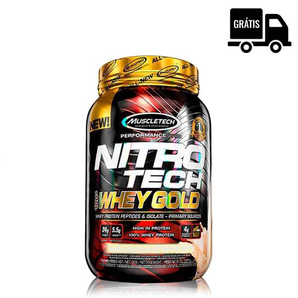 NitroTech 100% Whey Gold 1,02Kg - MuscleTech