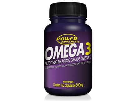 Ômega 3 500mg 140 Caps - Power Supplements