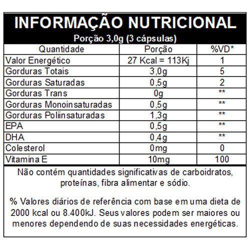Omega 3 EPA e DHA 120 Caps. - VITAFOR
