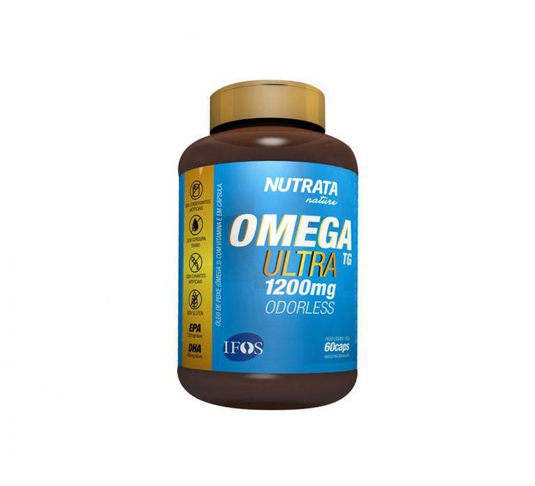 Omega 3 Ultra TG 1200Mg 60 Caps. - Nutrata