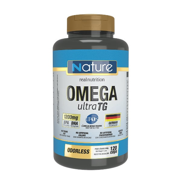 Omega 3 Ultra TG 120 Caps - Nature Real Nutrition