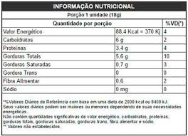 86fb0505c Power1One - BC Suplementos Paçoca Zero Açucar Caixa (24 Uni.) - Power1One -  BC Suplementos