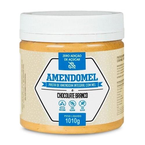 Pasta de Amendoim 1,010Kg - Amendomel