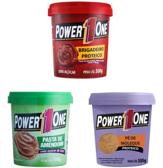 Pastas Proteicas 500g - Power1One