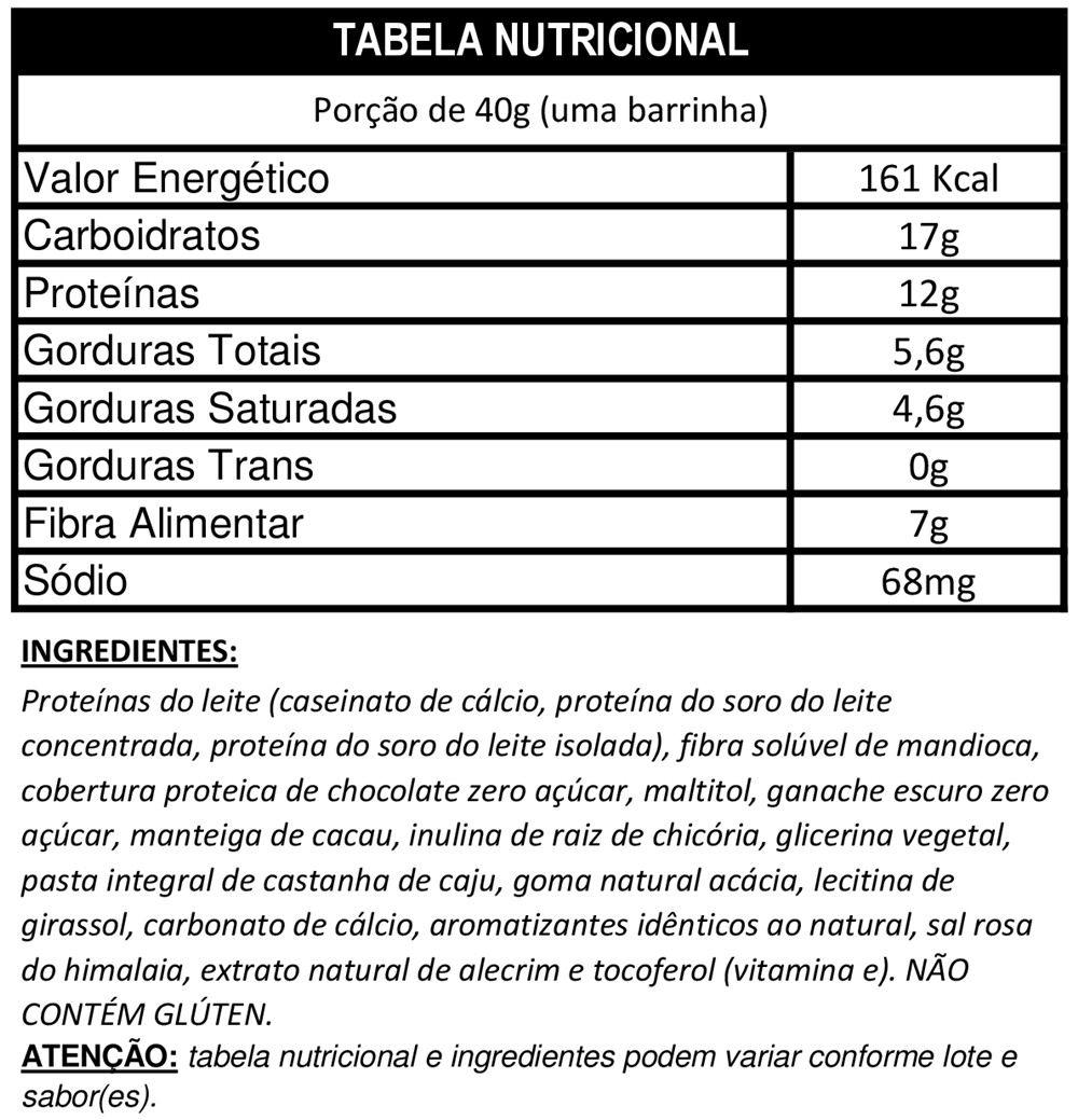 Protein Snack 40g 12 Uni. - DUX Nutrition