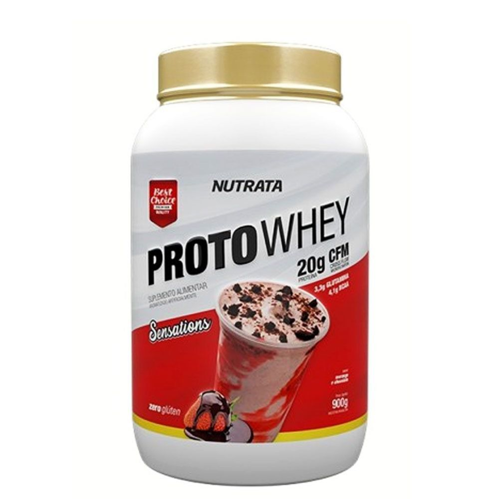 Proto Whey 900g - Nutrata  - BC Suplementos